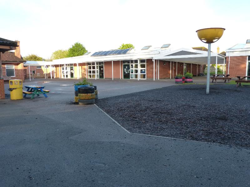 Lower Playground to Y3 Y4